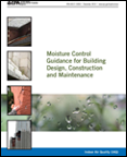 Cover of the Moisture Control Guidance for Building Design, Construction, and Maintenance publication.