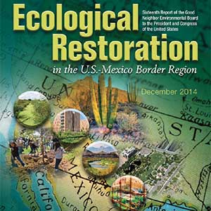 Ecological Restoration in the US-Mexico border region